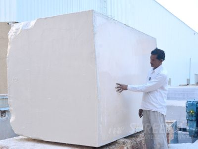 Block ready for sawing Kishangarh