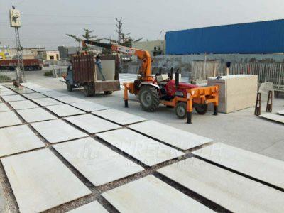 Manual processing of slabs