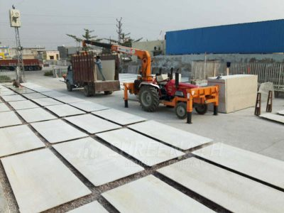 Manual processing of slabs Kishangarh