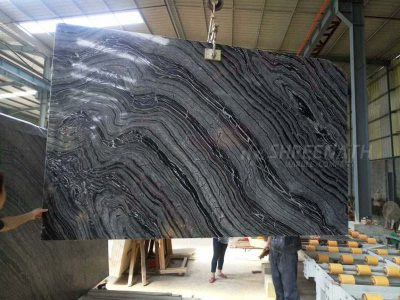 Slabs sent to polish line for polishing Kishangarh