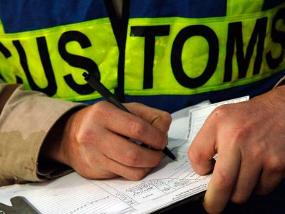 2. Custom clearance India