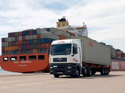 Loading material for processing centre