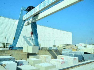 Unloading at procesing centre Kishangarh