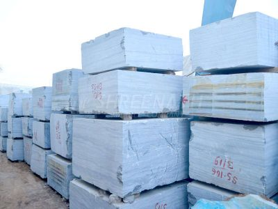 Blocks at processing centre