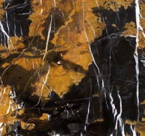 Indian Textures CNC Afgan Black and Gold, Kishangarh